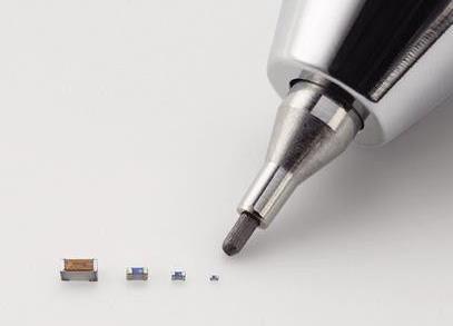 世界最小片状电感器 缩减75%体积