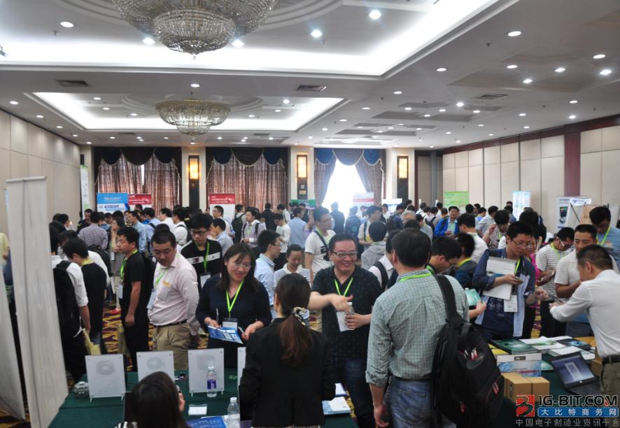 大比特微电机研讨会展示区