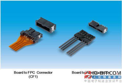 松下推出适用于连接车载LED灯模块和控制板的连接器