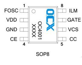 欧创芯全球首创宽电压 、高效率、高精度升降压恒流驱动IC OC4001