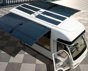 李河君 做太阳能汽车推移动能源高清图片