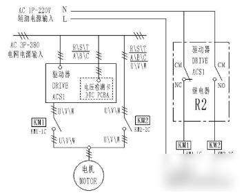工频的控制电路原理图