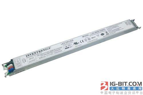 英飞特推出升级版60W超薄型可编程恒流LED驱动器