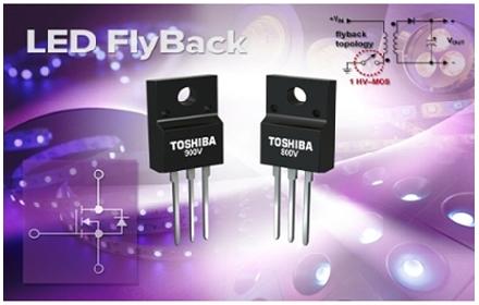 东芝公司推出面向高效高速开关应用的高压MOSFET系列