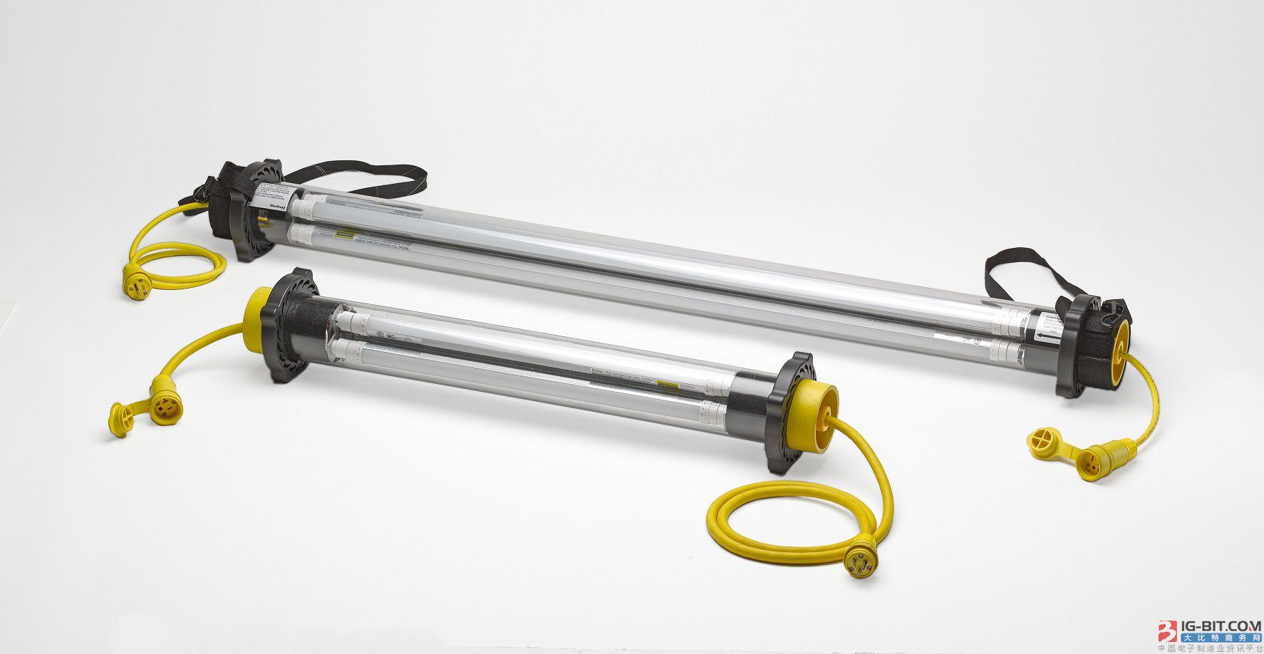 Molex 推出Woodhead® LED筒灯