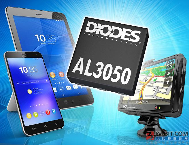 Diodes 公司推出集成30V MOSFET和肖特基二极管的,可编程调光LED驱动器