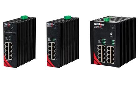 红狮针对工业需求推出更多增强型千兆以太网供电 (PoE+) 产品