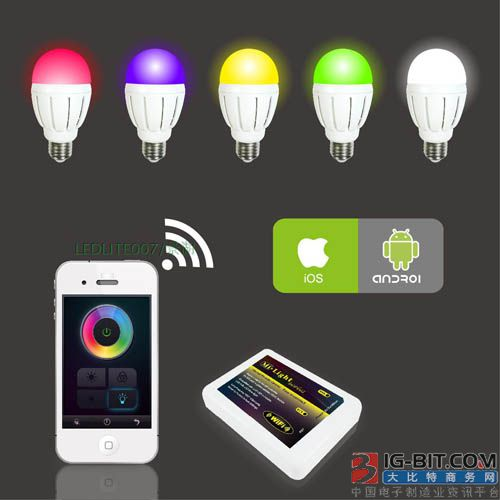 TP-Link推出Wi-Fi灯泡 具有1600万种颜色