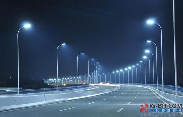 路灯杆智能加身,江西打造首条硅衬底LED智慧照明路
