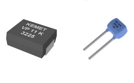 基美电子推出了七个新型金属氧化物压敏电阻器系列