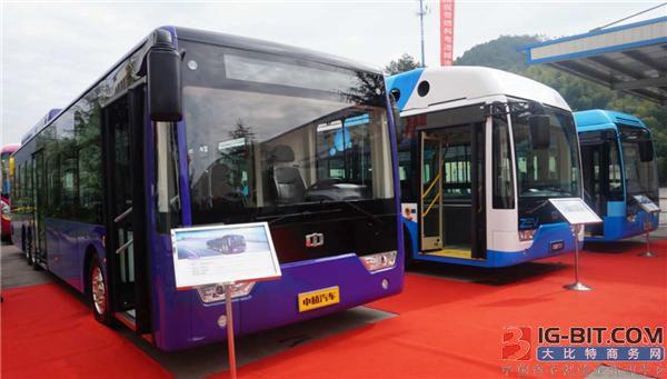 中植汽车布局新能源客车 轮边电机轻量化齐上身