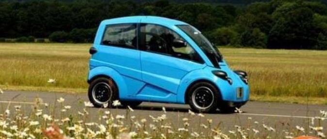四轮低速电动车