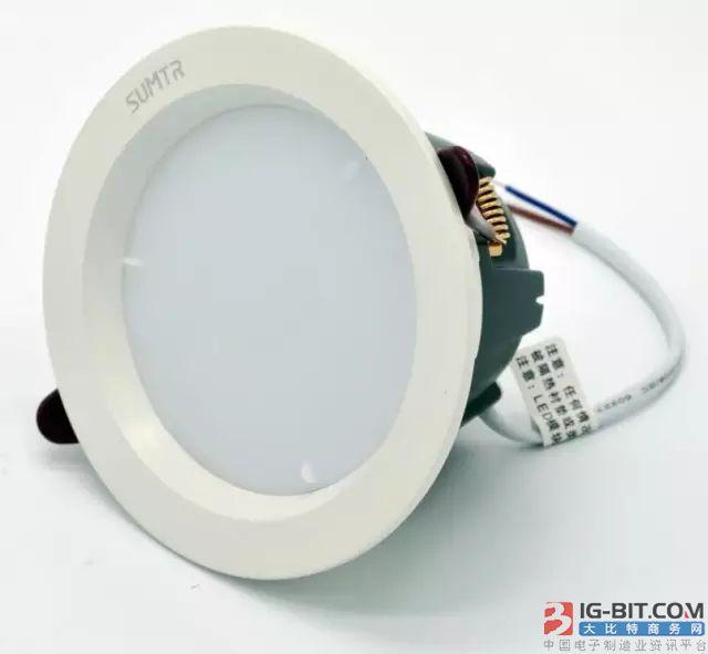 光源、驱动、外壳三体分离,拆换式LED筒灯可降低运营成本
