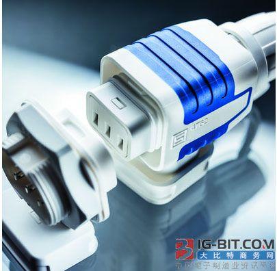 SCHURTER新推出IP 67和IP 69K级防水推/拉电器耦合器