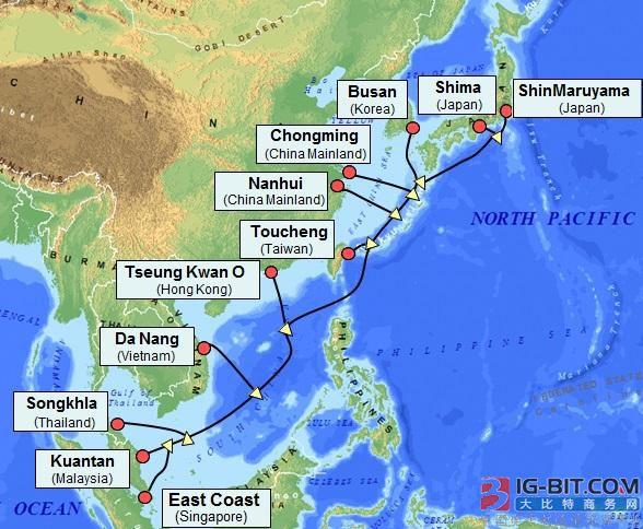 APG海底光缆系统越南段投产