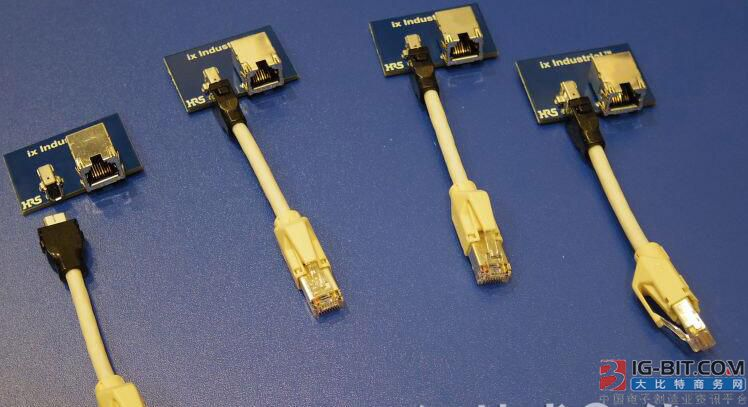 工业以太网用小型连接器