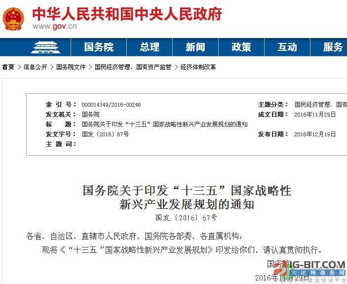 """""""十三五""""国家战略性新兴产业发展规划·新能源汽车部分"""