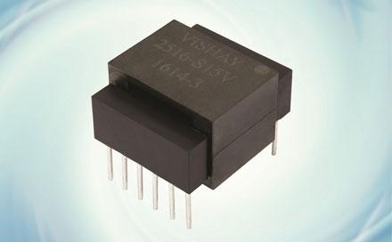 Vishay推出250W全桥混合平面变压器TPL-2516系列