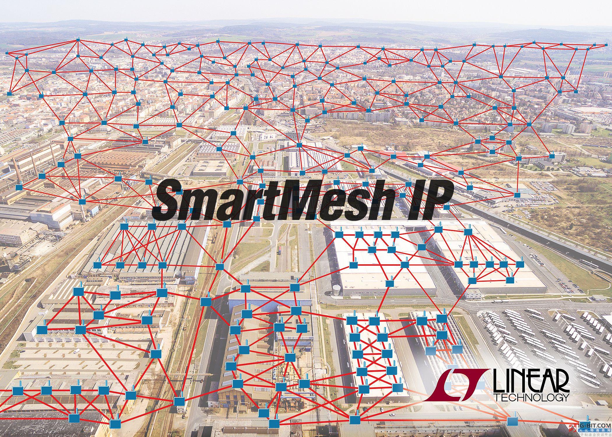 SmartMesh IP 无线网格网络扩展至可应对具数千个节点的工业 IoT 网络