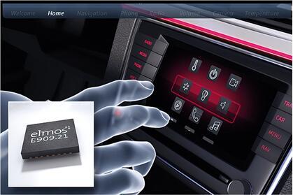 elmos推出汽车级新一代非接触式接近检测和