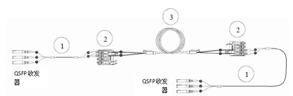 图 9: 转换分支跳线- 互连结构化布线方案