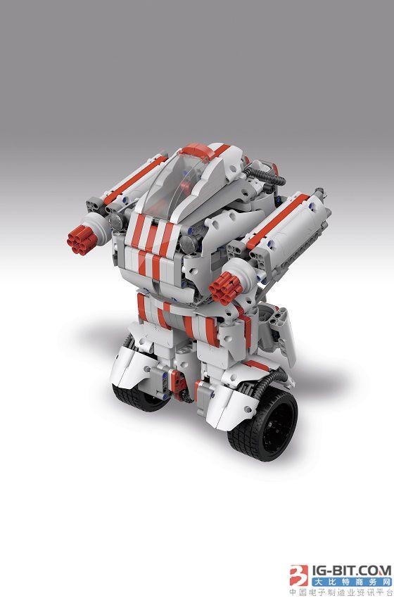 使用Nordic低功耗蓝牙模块的智能机器人玩具教导儿童有关机器人知识和编程技巧