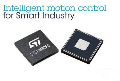 意法半导体推出了处理性能强大的智能电机控制单封装芯片组