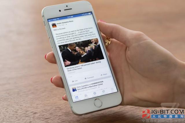 Facebook视频战略扩张:将推机顶盒APP 支持电视大屏幕看视频