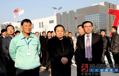 合肥市委书记宋国权率队赴上海推进集成电路产业招商合作