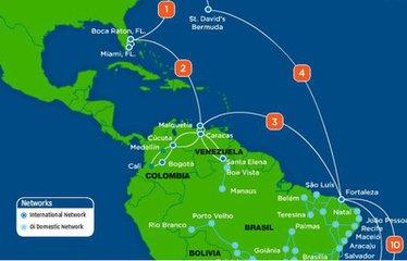 安哥拉电缆选择Ciena 设备服务MONET海缆系统