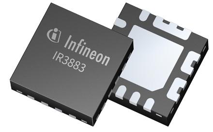 英飞凌科技推出简单易用的全集成型高效直流-直流调压器IR3883