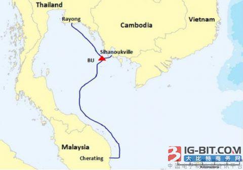 柬埔寨正式启动首条海底通信电缆