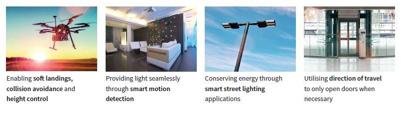 大联大品佳集团推出可应用于工业机器人系统的,基于英飞凌技术和产品的雷达和传感器解