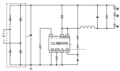 cl1520bn具有高精度电流采样电路,使得输出电流精度达到±5%