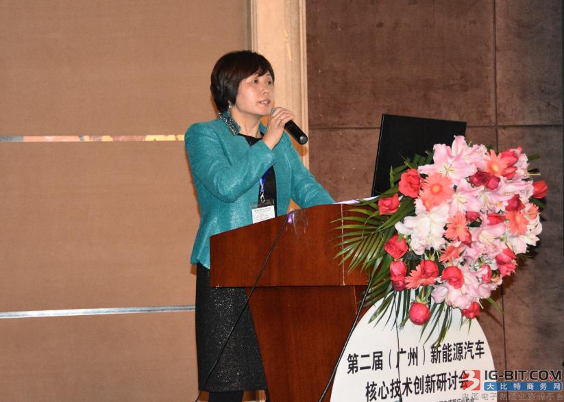 同济大学汽车学院新能源汽车产业化研究中心吴小员教授