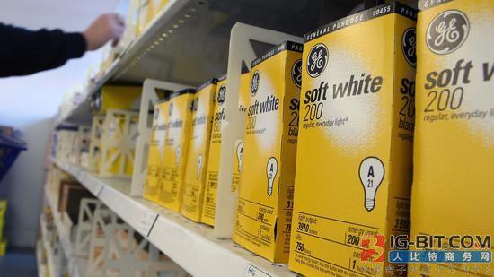GE考虑出售消费者照明业务