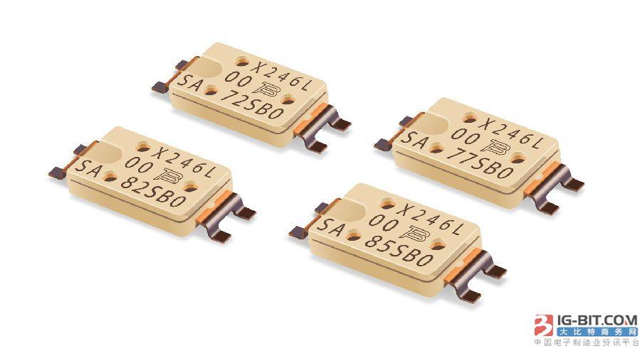 Bourns推出业界首款用于电池保护之贴片式微型断路器组件