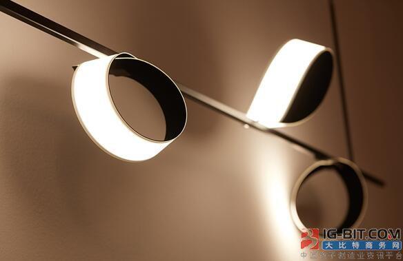 国产全新FOLED照明技术首发:轻薄可弯曲