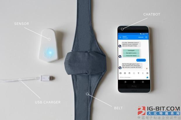 久坐腰很疼? 这个腰椎传感器帮你解锁正确的姿势