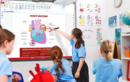 互动教学新体验优派LS620X短焦激光投影机潜力无限