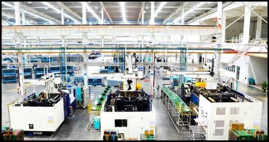 图:拓斯达整厂注塑自动化项目案例