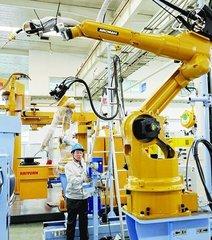广州去年卖出23亿元工业机器人 销售规模全国领先