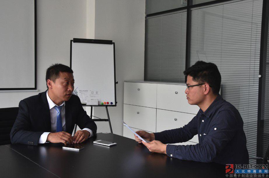 孟晓虎接受大比特资讯记者采访