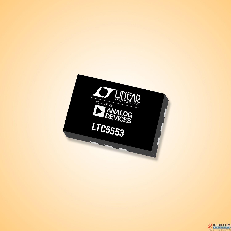 集成 LO 缓冲器的超宽带 3GHz 至 20GHz 混频器 采用纤巧 3mm x 2mm 封装并提供 23.9dBm IIP3