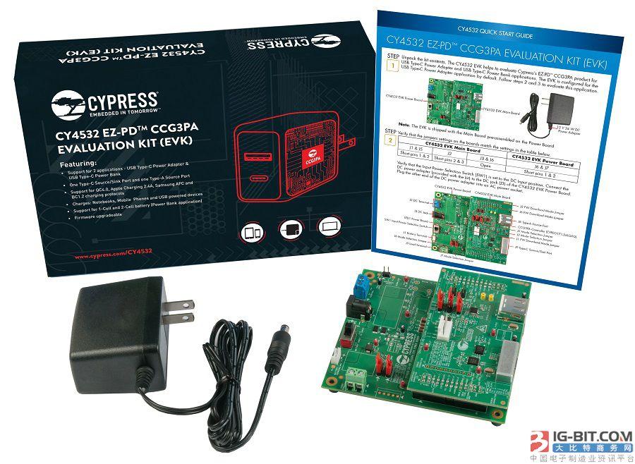 赛普拉斯 EZ-PD™ CCG3PA 控制器