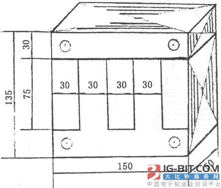 发电设备用三相电400V-0.8A电抗器的设计