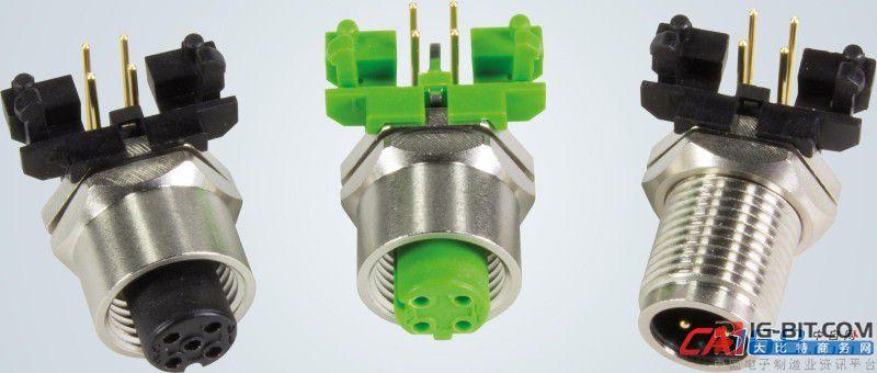 浩亭圆形连接器适合印刷电路板上安装 方便实现微型化