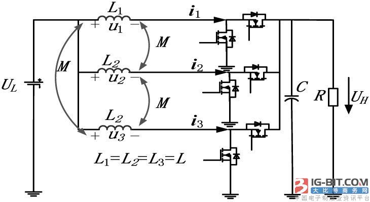 boost模式下交错并联磁集成双向dcdc变换器的设计准则