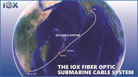 毛里求斯到南非印度的首条开放海缆即将部署
