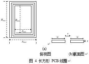 磁谐振无线电能传输系统的PCB线圈优化设计